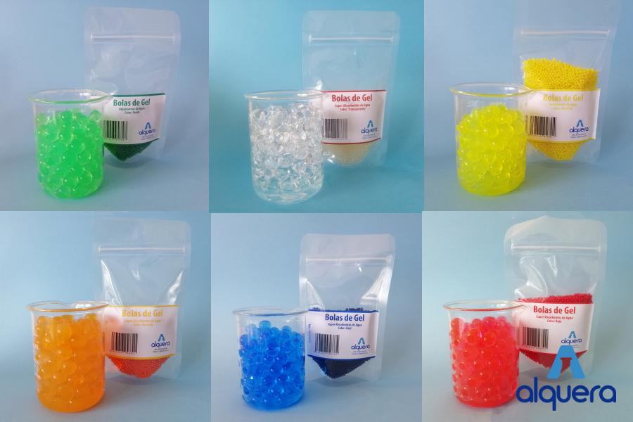 bolas de gel alquera